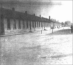 Les baraques à Royallieu
