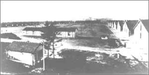 Vue sur l'ensemble du camps de Royallieu