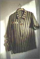 Veste de déporté (source : Amicale déportés tatoués)
